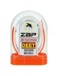 Zap Bracelet Anti-moustiques au DEET Orange