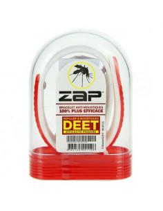Zap Bracelet Anti-moustiques au DEET rouge