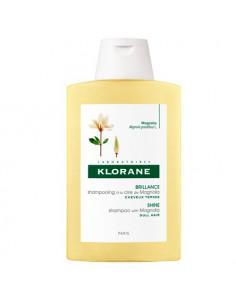 Klorane Brillance Shampooing Cire de Magnolia cheveux ternes 400ml