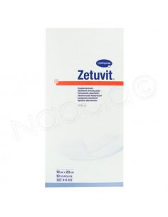 Zetuvit Pansements Absorbants Hartmann. 10 pièces 10x20cm