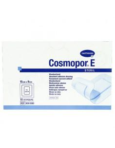 Cosmopor E Steril Pansement Couvrant Adhésif. Boite de 10 15x9cm