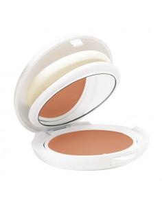 Avène Haute Protection SPF50 Compact. Poudrier 10g miroir + éponge Doré