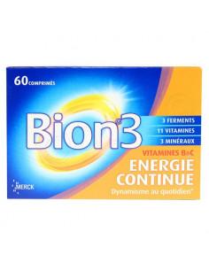Bion Energie Continue 6h Libération Prolongée 60 comprimés