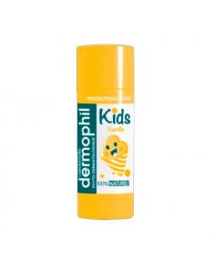 Dermophil Kids Stick à lèvres protection. 4g Vanille