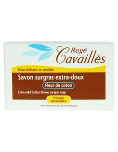 Rogé Cavaillès Savon surgras extra-doux Fleur de coton 250g
