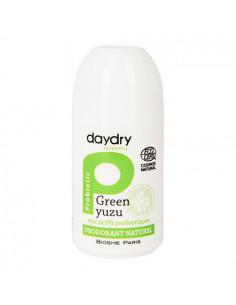 DayDry Déodorant Naturel Bio aux Actifs Probiotiques. Roll-On 50ml Green yuzu
