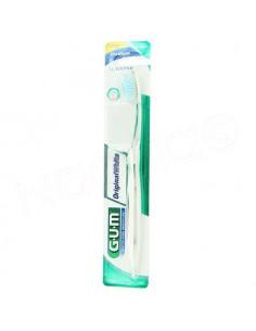 Gum Brosse à dents Sunstar Original White Medium 563 + capuchon Blanc