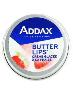 Addax Butter Lips. 8g Crème glacée à la fraise