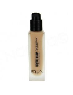 SLA Perfect Glow Fluid Foundation Fond de Teint Fluide. 30ml 01 Porcelaine naturel