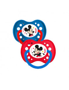 Dodie Disney Baby Sucettes Anatomiques +18m. x2 Mickey