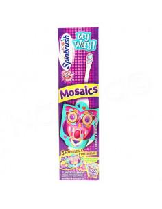 Spinbrush My Way! Brosse à Dents à piles pour Enfant Mosaics