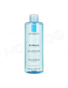 Effaclar Gel Moussant Purifiant sans savon peau grasse 400 ml