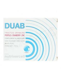Duab Tractus Urinaire 20 gélules