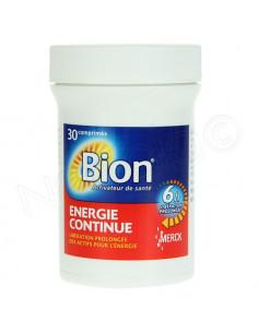 Bion Energie Continue 6h Libération Prolongée 30 comprimés