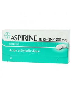 Aspirine du rhône 500mg 20 comprimés