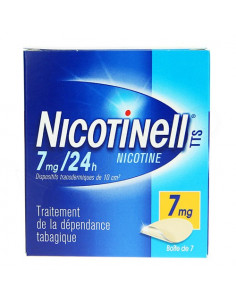 Nicotinell TTS 7mg / 24h Dispositifs transdermiques de 10 cm2