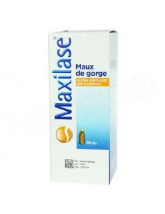 Maxilase Maux de Gorge Sirop Gout Mandarine