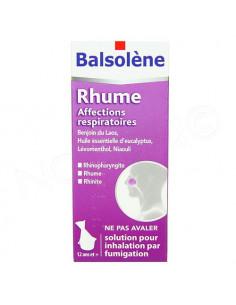 Balsolène Rhume Affections Respiratoires. flacon 100ml