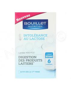 Bouillet Nutrition Intolérance au Lactose Digestion des produits Laitiers