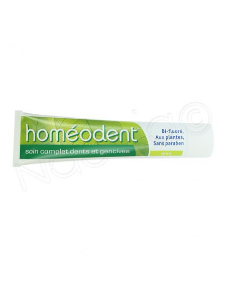 Homéodent Soin Complet Dents et Gencives Anis Tube 75ml