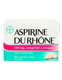Aspirine du Rhône 500mg