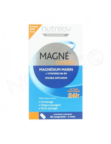 MAGNE CONTROL Magnésium 300mg Plus B6. 60 comprimés - ACL 4658297