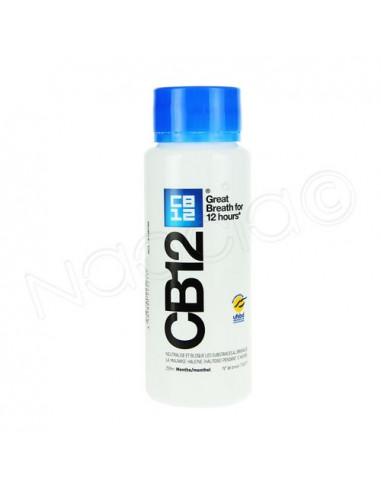 CB12 Bain bouche Actif Haleine Sûre effet 12h. Flacon 250ml