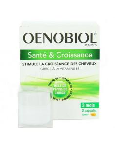Oenobiol Capillaire Revitalisant Complément Alimentaire. 60 capsules