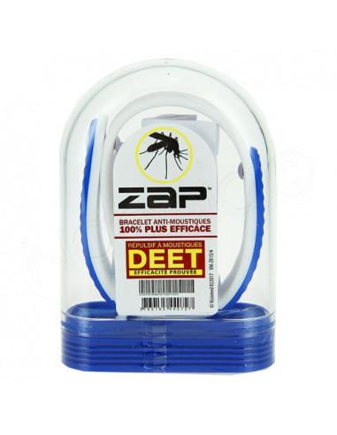 Zap Bracelet Anti-moustiques au DEET