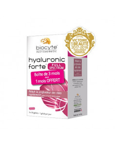 Biocyte Hyaluronic Forte Full Spectrum. 3x30 gélules