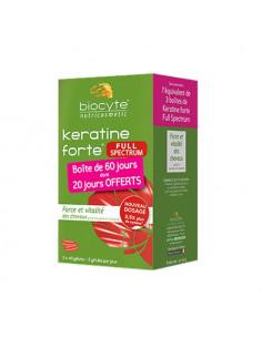 Biocyte Keratine Forte Full Spectrum. 3x40 gélules