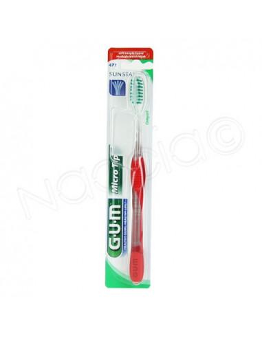 G.U.M Brosse à dents Micro Tip