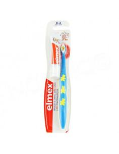 Elmex Brosse à dents débutant 0-3 ans Plus Dentifrice enfant 12ml 0-6 ans.