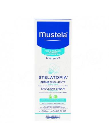 Mustela Stelatopia Crème Emolliente Texture Fluide