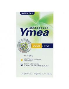 Yméa Ménopause Jour & Nuit Double Action. 128 gélules