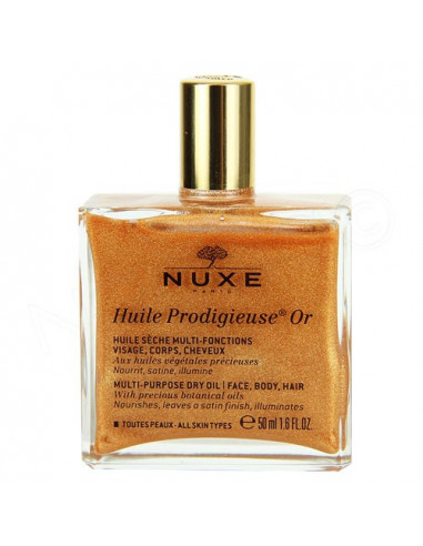Nuxe Huile Prodigieuse Or Nouvelle Formule