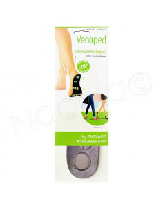 Sigvaris Venoped Semelles Actives action jambes légères. 1 paire