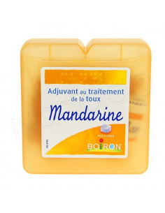 Boiron Mandarine pâte à sucer traitement de la toux Boite 60g