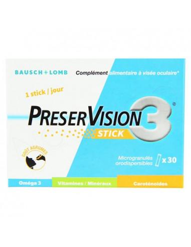 Preservision 3 Stick. Microgranulés Orodispersibles