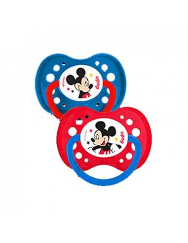 Dodie Disney Baby Sucettes Anatomiques Plus18m. x2