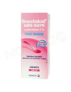 Bronchokod sans sucre Toux Grasse Enfants. Flacon 125ml