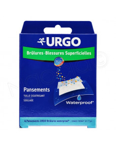 Urgo Pansements Brûlures - Blessures Superficielles Stériles Waterproof