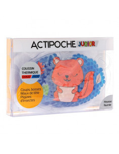 Actipoche Coussin Thermique Microbilles Junior Animaux