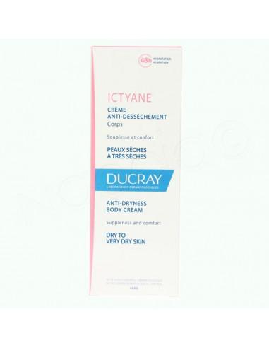 Ducray Ictyane Crème Anti-dessèchement Corps