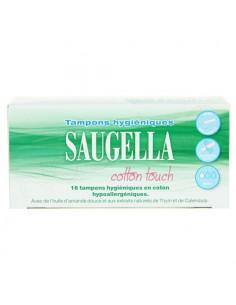 Saugella Cotton Touch x16 tampons hygiéniques
