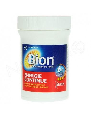 Bion Energie Continue 6h Libération Prolongée. 30 comprimés