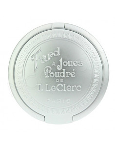 T.LeClerc Fard à Joues Poudré. Poudrier 5g avec miroir