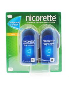 Nicorette 2mg Fruits Comprimé à Sucer 4x20 comprimés Nicorette - 1