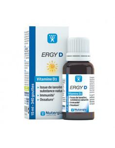 Nutergia Ergy D Vitamine D3. 15ml  - 1