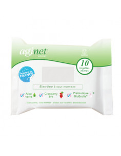 Aginet Pocket x10 lingettes intimes  - 1